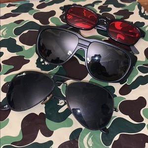 🤩 3 Mixed Sunglasses